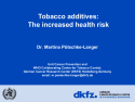 Tobacco additives